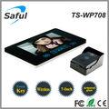 """Saful ts-wp708 intercomunicación inalámbrica de vídeo 7"""""""