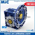 Serie NMRV Reductores de velocidad para motores eléctricos de las revoluciones