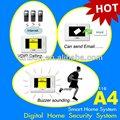 Sistema de intercomunicación de vídeo IP con el sistema de seguridad para el hogar