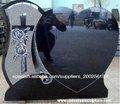 Natural de granito piedra marcador graves para el cementerio