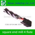 Ivoclar 4 flauta de fibra de carbono extremo millscae4- 20*20 pasador para el fresado de la máquina