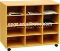 Pública moderna biblioteca de la oficina, barato de madera librerías/estanterías, armario barato