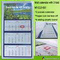 wt-cld-551 2014 Calendario de pared