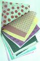 color embalagem de presente de seda papel de seda