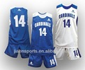 el equipo de las mujeres del bordado uniforme de baloncesto
