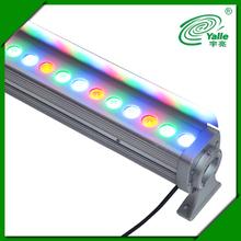 Ip65 agua- una prueba 36w rgb led de pared de lavado