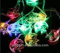 solar luces de adornos para el árbol de navidad decoración
