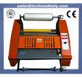 380mm anti- curl de escritorio caliente y fría rodillo laminador 14 pulgadas termal laminador