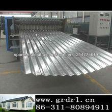 PPGI / gi galvaized zinc de chapa de acero para techos del metal para el techo y la pared de la exportación a África y América