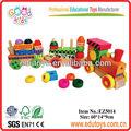 de madera de tren de juguete para los niños
