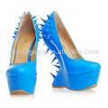 2014 nada de moda con zapatos de plataforma de tacón imágenes de las mujeres se visten
