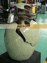 Mi dino- gran dinosaurio mecánico escotilla exportador de huevo de dinosaurio