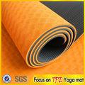 personalizada al por mayor anti- deslizamiento eco estera de yoga tpe