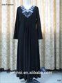 Vestido de mujer islámico Abaya negro