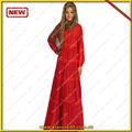 la mujer árabe abaya venta al por mayor de moda para la exportación