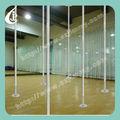 de alta calidad profesional portátil ajustable de pole dance baile