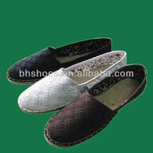 bhs095894 especial cordón superior plana alpargata zapatos