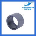 Pn16 instalación de tuberías pvc buje reductor, pulgadas 3 4 por pulgada, gris