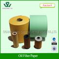papel de filtro de aceite de auto