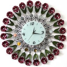 Gran reloj de pared del metal de la manera hermosa