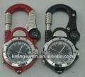 2014 nuevo estilo mosquetón con brújula reloj