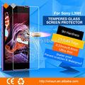 de choque contra el teléfono espejo protector de pantalla para sony l39h