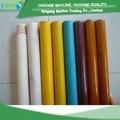 Escoba de madera de mango, madera palo de trapeador con la pintura de diferentes colores