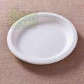 platos desechables de fibra de caña de azúcar