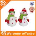 boneco de neve de natal quente da boneca engraçado natal artesanal de brinquedos 2014