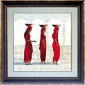 mujeres africanas pinturas al óleo