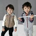 de los niños niño zip chaquetas de lana
