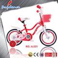 venta al por mayor 14 rojo pulgadas bicicleta infantil para niña