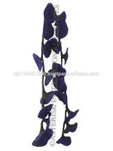 De alta calidad hechos a mano de fieltro de lana guirnalda decorativa/de flores de lana/flor artificial/tulipán