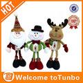 el hombre de nieve de navidad muñeca 2014 nuevo producto promocional de la felpa de navidad de mascotas de juguete