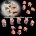 moda 3d flor decoração de unhas decoração prego produto da arte da flor