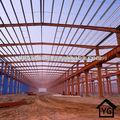 luz de acero de construcción