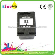 OEM para HP 92 cartucho de inyección de tinta de renovar con buena calidad
