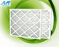 El mejor precio para el cartón plisado filtro de aire primario/primaria de cartón marco merv 8 plisado filtro de aire