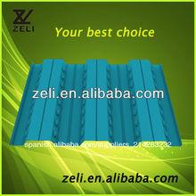 De acero hoja de planta cubiertas yx50-342-1025