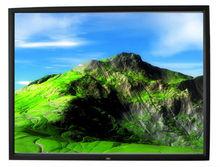 Fácil de instalar el marco de la pantalla de proyección marco de aluminio 16:9 4:3