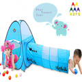 Kids Multi-Color Interior / Exterior Juego Set Pop Up Túnel Carpa para Combo juguete del patio