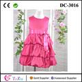 Moda vestidos de niña en línea, un coreano en capas fluffy vestido formal