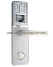 2013 de alta seguridad Hot huella digital, clave de venta y cierre de la puerta contraseña