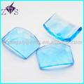 aqua rectángulo azul rectángulo piedra preciosa