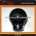 fresco manual de cambio de marcha perilla con fibra de carbono de la superficie