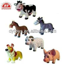 china fabricante oem de plástico a medida de animales de granja de juguete