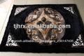 la resistencia al polvo parche anudadas a mano alfombras de cuero