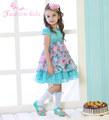 crianças Wedding Dress Up, vestido maxi bebê menina, vestido de Verão para crianças