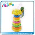 los círculos 8 arco iris de plástico círculo juguetes para los niños