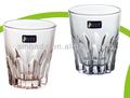 venta al por mayor de color vaso de vidrio